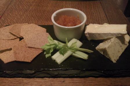 Wick at Both Ends cheese board