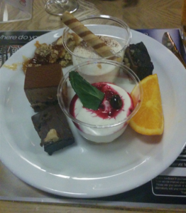 Cosmo dessert