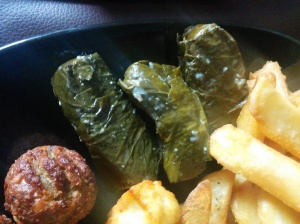 Greedy Greek Deli vine leaves
