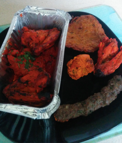 Butler's chefs platter & mixed starter