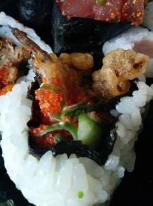 Sakushi uranyaki roll