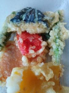 Sakushi veg tempura