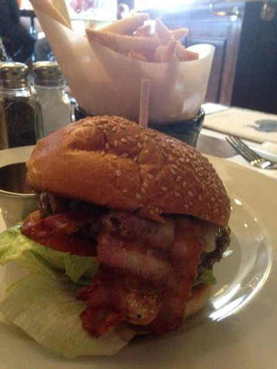 the lescar burger