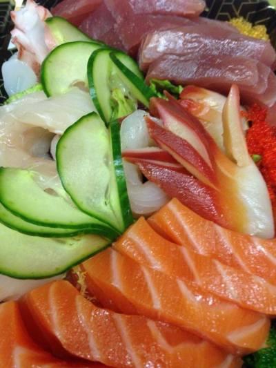 Fuji sashimi platter 2