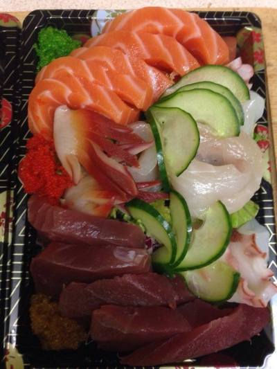 Fuji sashimi platter