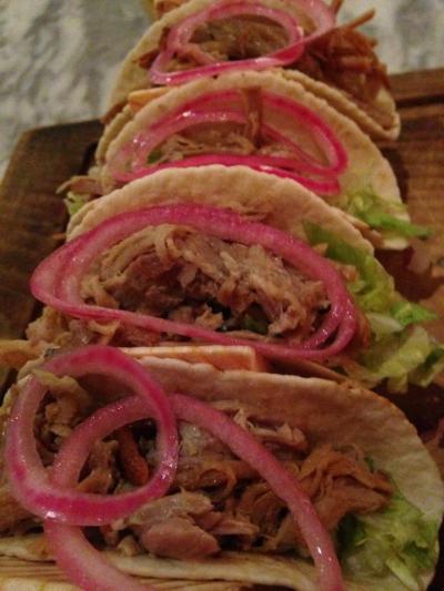 revolucion de cuba pork taco