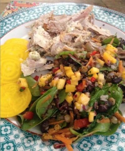 Revolucion de Cuba havana chicken salad