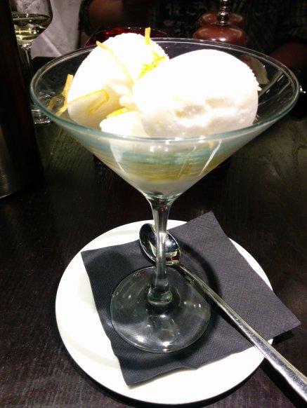 marco's lemon sorbet